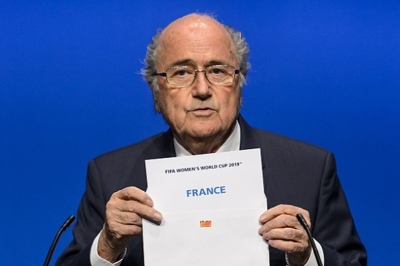FBL-WC2019-WOMEN-FIFA-FRANCE-ANNOUNCEMENT