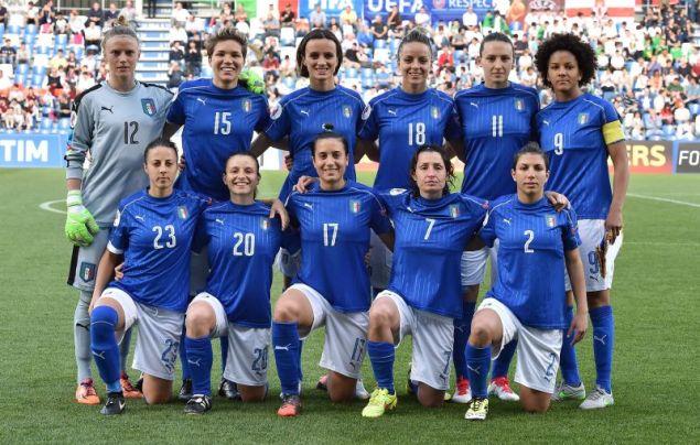 """Italy v Northern Ireland - UEFA Women's Euro 2017 Qualifier"""