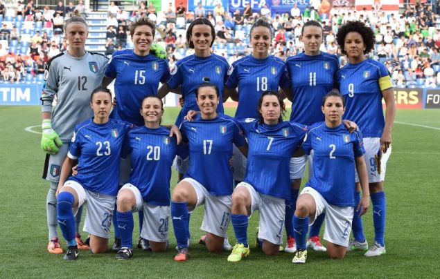 """Italy v Northern Ireland - UEFA Women's Euro 2017 Qualifier"""