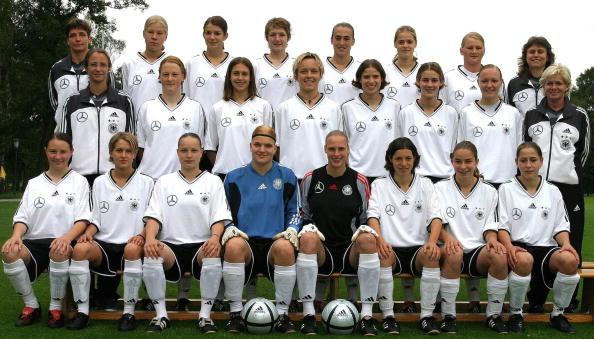 Frauenfussball: U 19 Nationalmannschaft Deutschland 2004