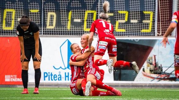 Fotboll, Damallsvenskan, PiteŒ - Kopparbergs/Gšteborg