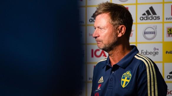 Fotboll, Dam, Sverige, Infšr VM-Kval, Presskonferens