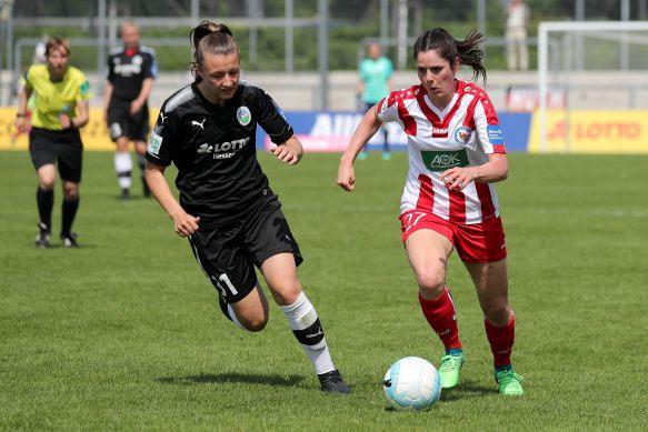 Fussball, Allianz Frauen-Bundesliga, 1. FFC Frankfurt - 1. FFC Turbine Potsdam