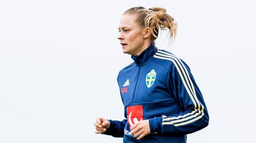 Fotboll, Dam, Algarve Cup 2018, Dag 1, Sverige, TrŠning