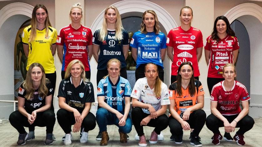 Fotboll, Damallsvenskan, Upptaktsträff 2019