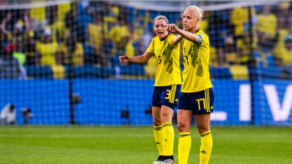 Football, FIFA Women's World Cup, Day 14, Sweden - USA