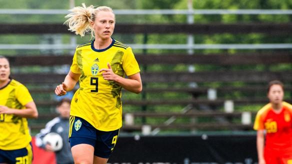 Fotboll, Dam, landskamp, U23, Sverige - Kina