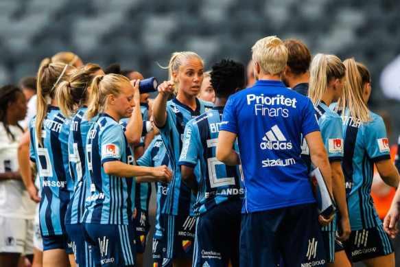 Fotboll, Damallsvenskan, Djurgården - Eskilstuna