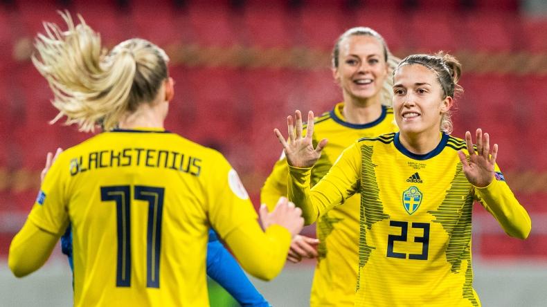 Football, UEFA Women's Euro Qualifier, Slovakia - Sweden